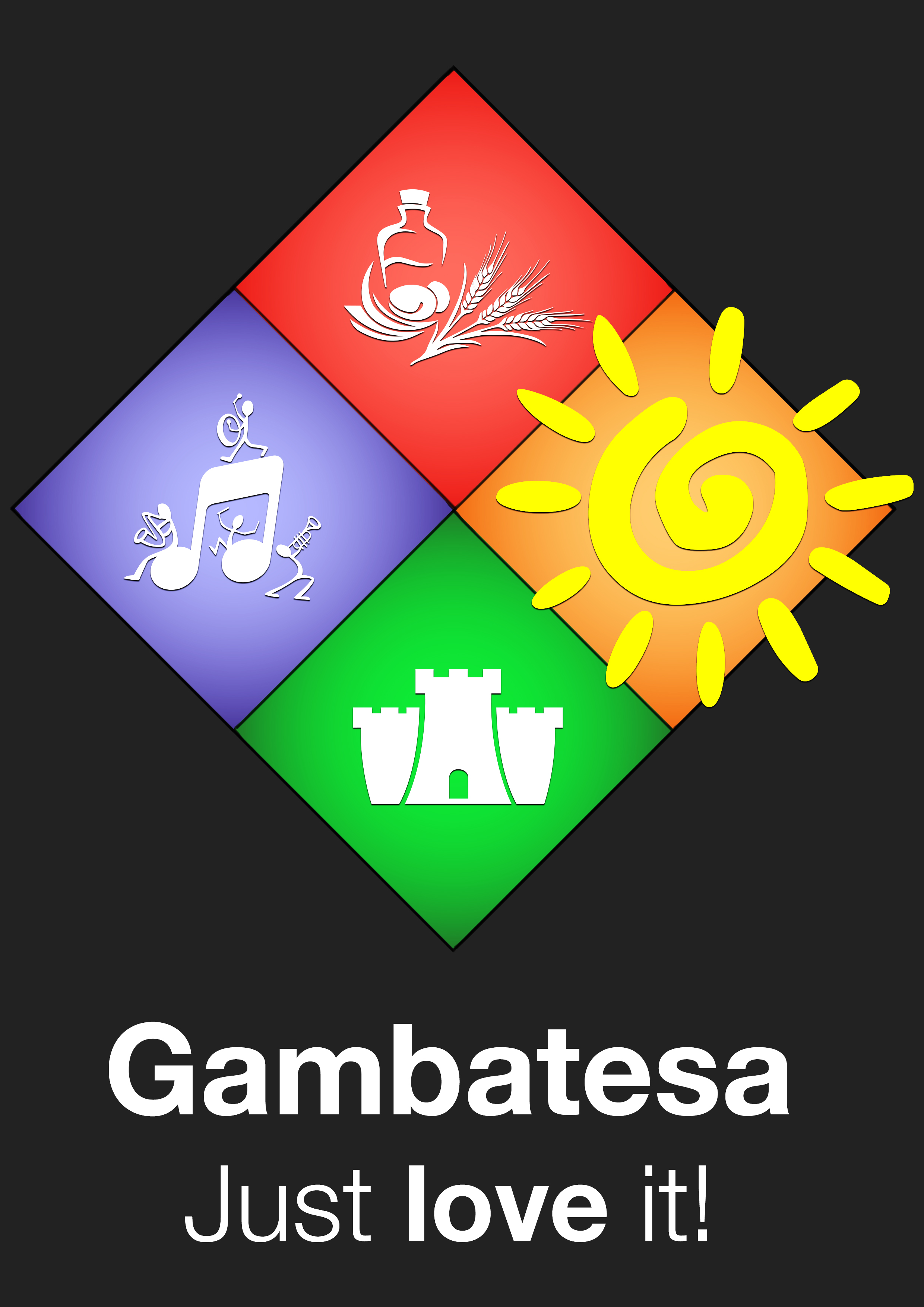 logo Gambatesa Just love it